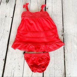 OshKosh B'Gosh Girls Red Set